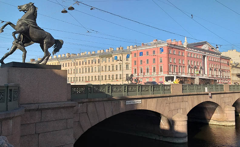 The Anichkov Bridge