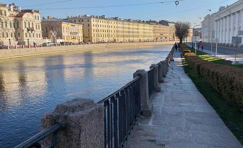 The Fountain River – Fontanka