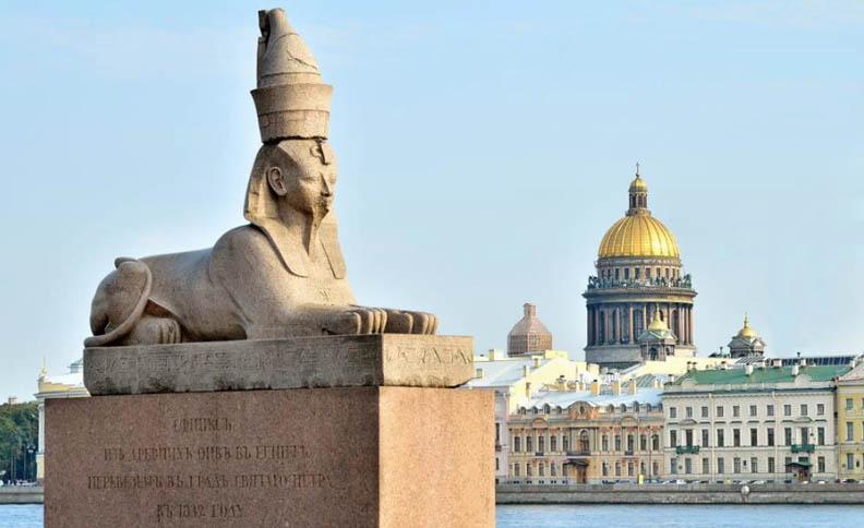 Sphinx on University embankmant